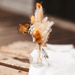 Trockenblumenstrauß in Vase Gatsby Mini